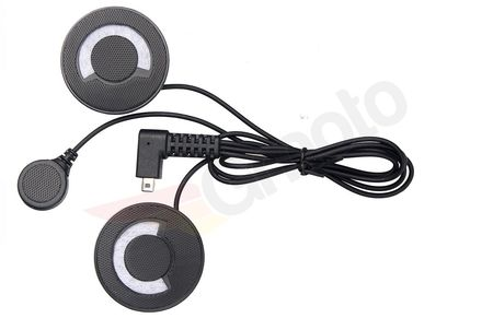 Zestaw słuchawki i mikrofonu do kasku zamkniętego interkomów FreedConn