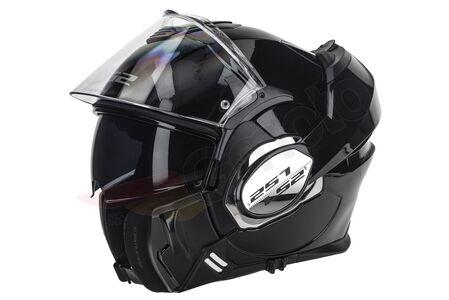Kask szczękowy LS2 FF399 VALIANT SOLID BLACK XL