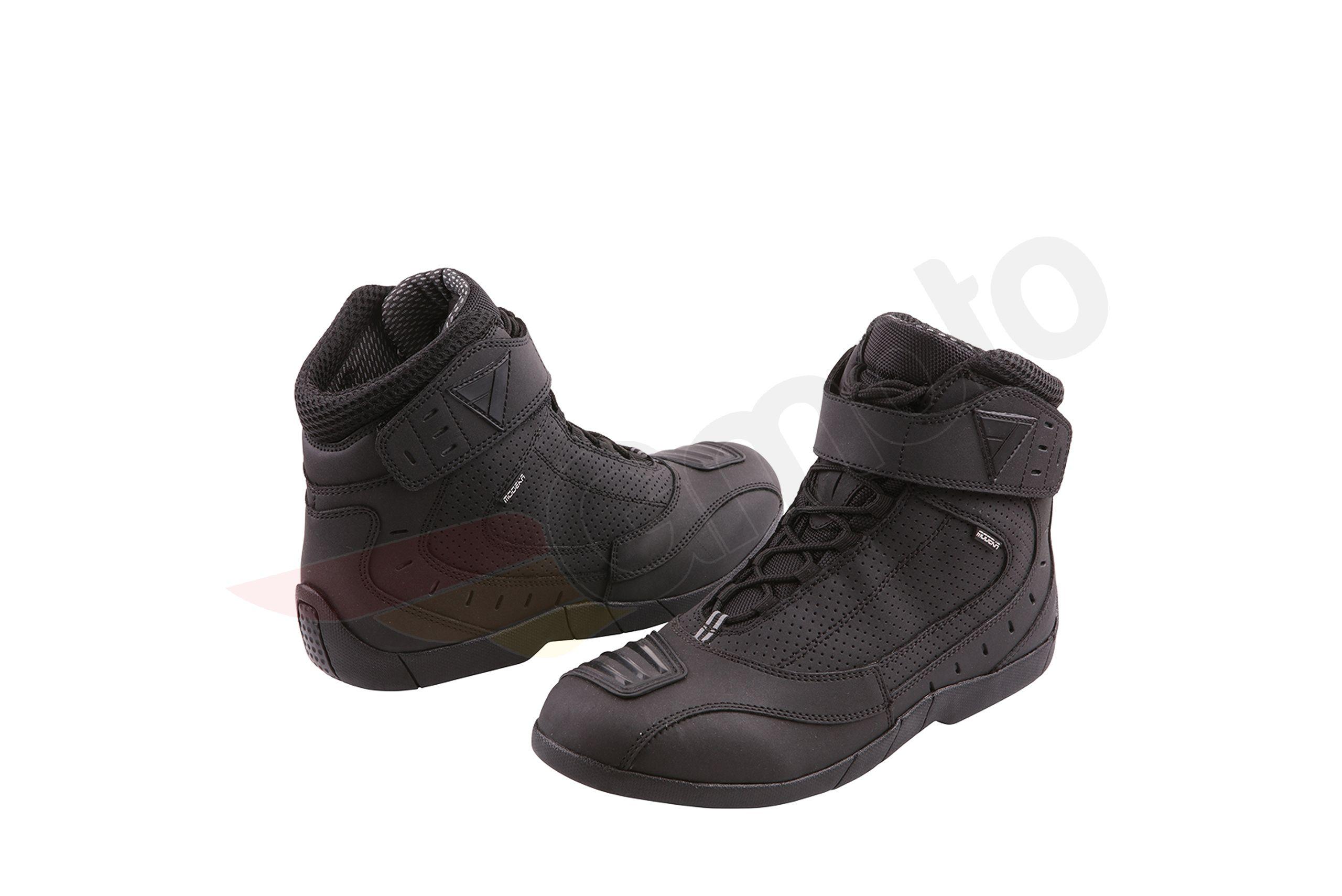 Buty Motocyklowe Modeka Black Rider Czarne Gmoto Pl Sklep Motocyklowy