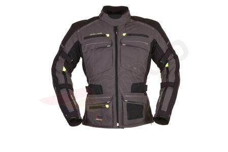 Kurtka tekstylna Modeka Tacoma II szaro-czarna XL
