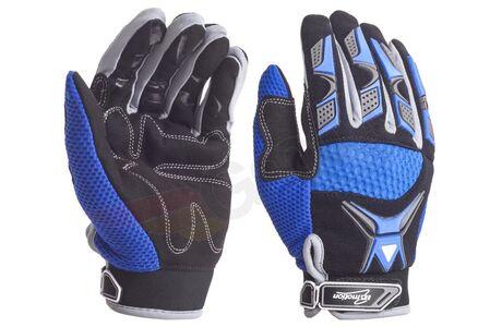 Rękawice Cross niebieskie L Inmotion