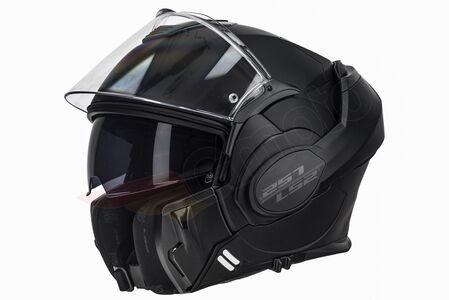 Kask szczękowy LS2 FF399 VALIANT NOIR MATT BLACK XL