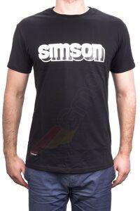 Koszulka T-shirt z logo Simson S
