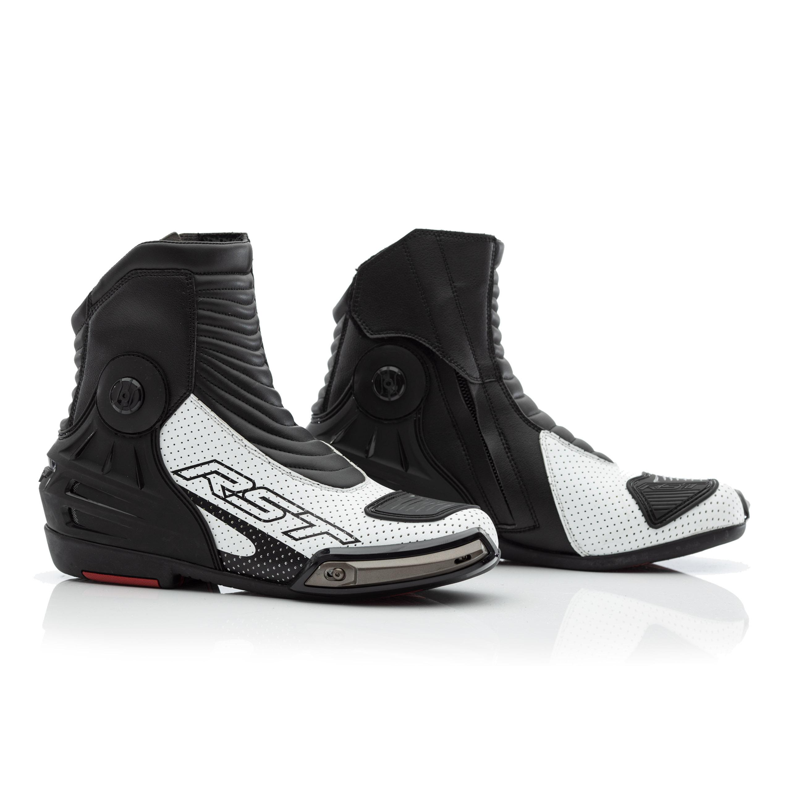 Buty Sportowe Rst Tractech Evo Iii Short Black White Gmoto Pl Sklep Motocyklowy