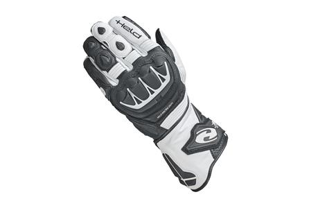 Rękawice skórzane Held Evo-Thrux II Black/White 10