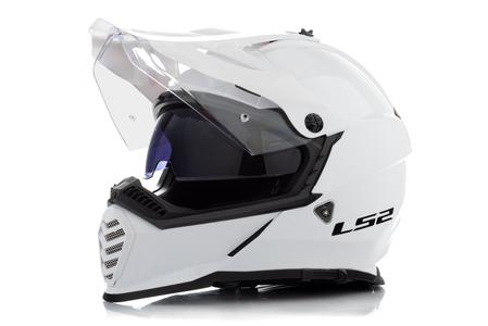 Kask enduro LS2 MX436 PIONEER EVO GLOSS WHITE 3XL