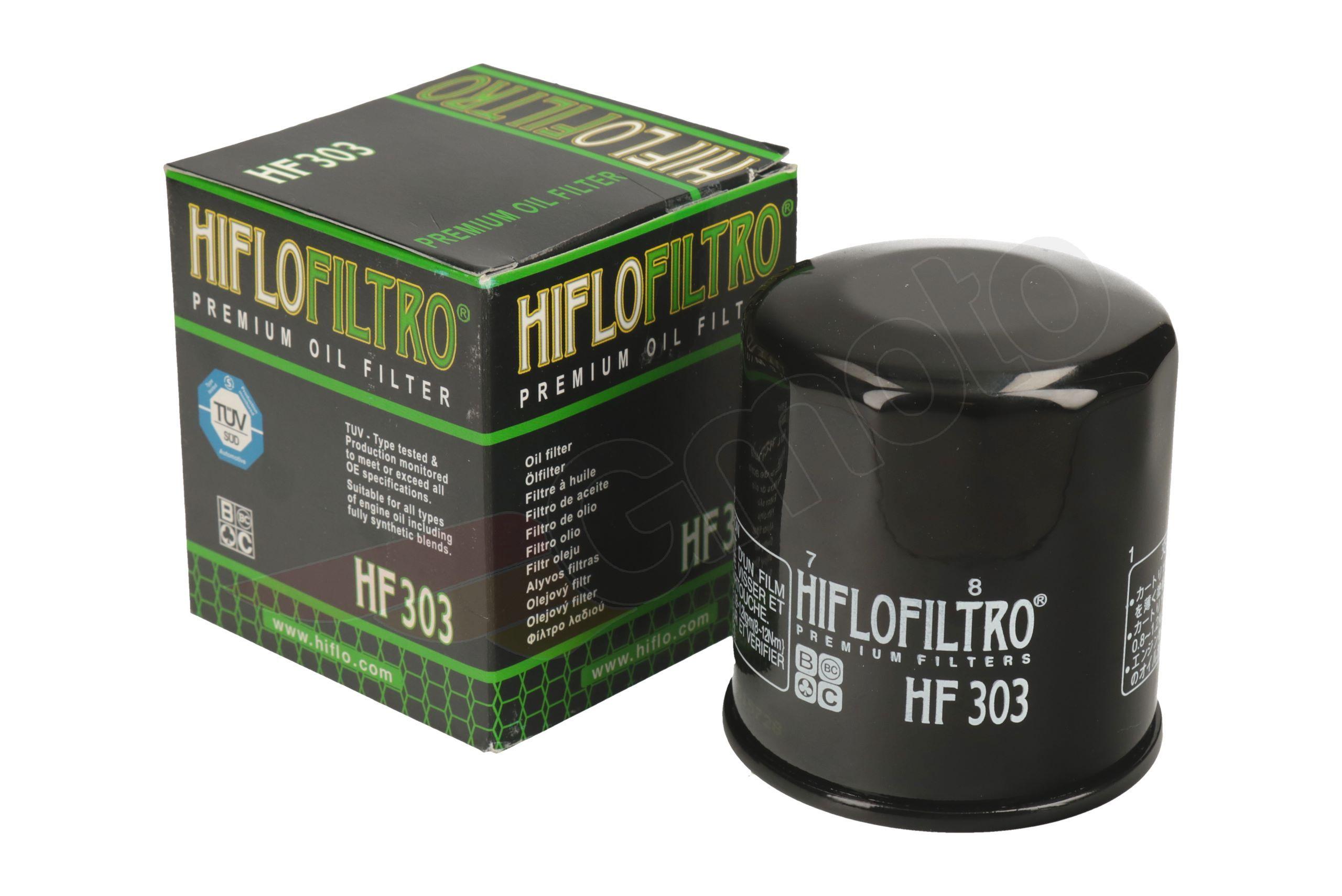 Hiflofiltro filtro aceite hf303 yamaha yxr 450 660 Rhino Hiflo filtro filtro aceite de motor