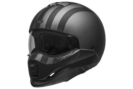 Kask modułowy Bell Broozer free ride matte grey/black L