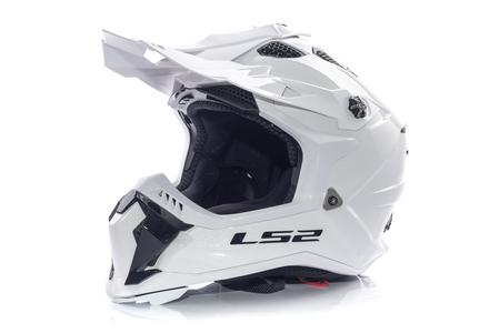 Kask enduro LS2 MX700 SUBVERTER EVO SOLID WHITE L