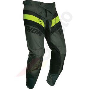 Thor Pulse Racer spodnie Enduro Cross zielony/czarny 32