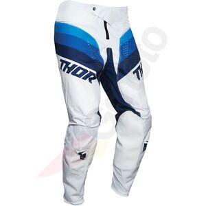 Thor Junior Pulse Racer spodnie Enduro Cross biały/granatowy 28