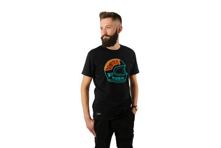 Koszulka T-shirt z logo Gmoto na kasku XL