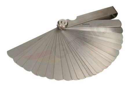 Szczelinomierz 25 listków 0.04 - 1.00 mm