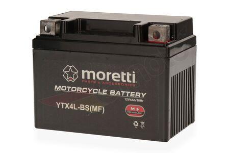 Akumulator żelowy Moretti YTX4L-BS